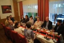 Vorstand des SV-Ulmerfeld und Ehrengäste